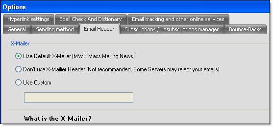 Mass Mailing News